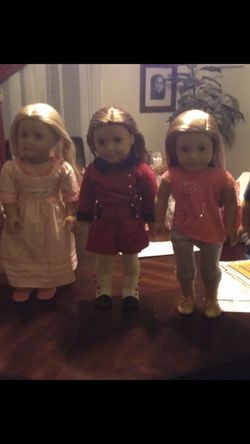 American girl dolls still in the original packaging for Sale in North Kingstown,  RI