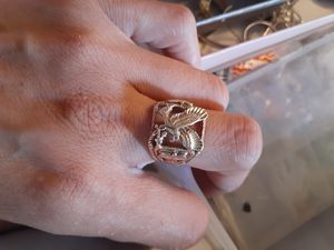 10k Eagle gold/rose gold ring size 10 for Sale in Tacoma, WA