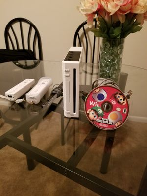 Nintendo Wii with Super Mario bros.Wii for Sale in Catonsville, MD