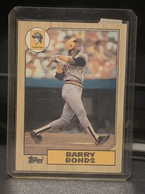 1987 Barry Bonds Topps Rookie Card for Sale in Peoria, AZ