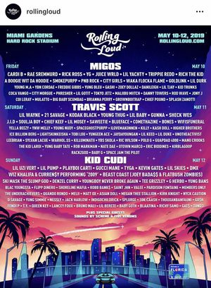 Rolling Loud Concert Ticket! for Sale in Raleigh, NC