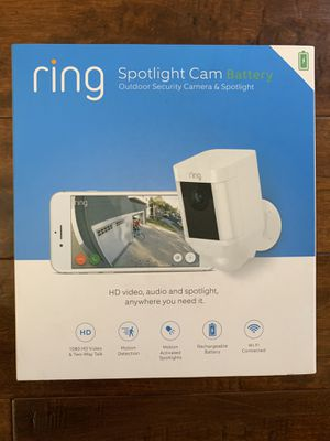 Ring Wireless Spotlight Camera - Brand NEW Sealed for Sale in Chino Hills, CA