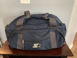 Official Starter Gym Duffle Bag Detachable Shoulder strap Excellent Conditon for Sale in Las Vegas, NV