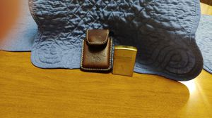 Camel Zippo lighter,with leather case for Sale in Raleigh, NC