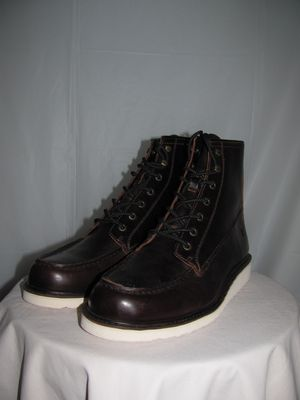 Brand New FRYE Dawson Wedge Brown Leather Work Boots Men's Size 10 for Sale in Long Branch, NJ
