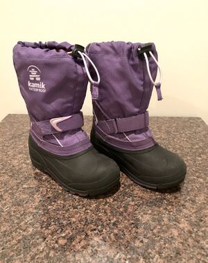 Girls Kamik Snow Boots - size 13 for Sale in Schaumburg, IL