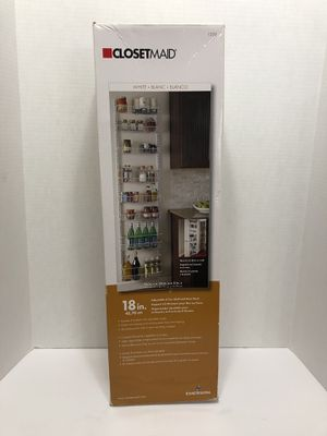 New!! 8 Tier ClosetMaid Wall/Door Rack for Sale in Orland Park, IL