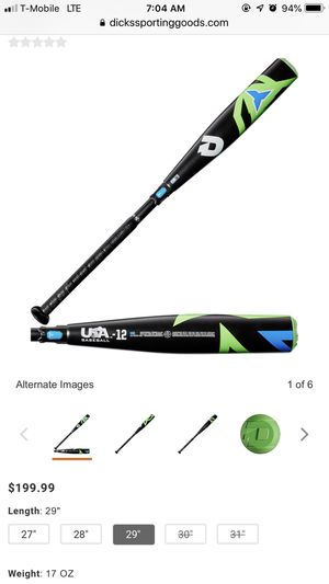 Demarini sabotage baseball bat for Sale in Hamilton Township, NJ