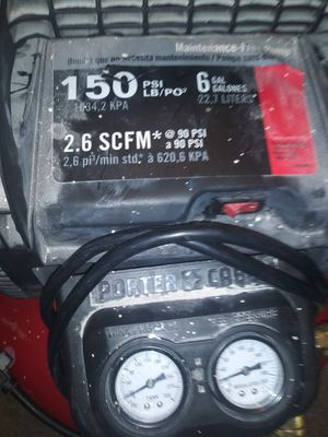 Porter Cable air compressor for Sale in Las Vegas, NV