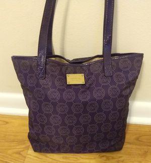 Michael Kors Purple Tote Bag for Sale in Tampa, FL