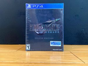 Final Fantasy 7 VII Remake Deluxe Edition Edition for Sale in Las Vegas, NV