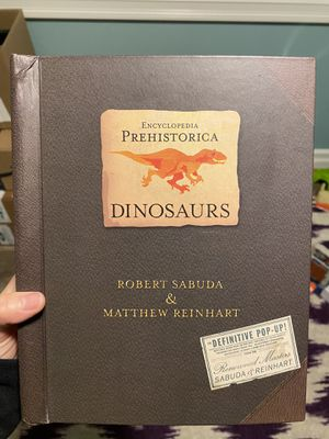 Prehistorica Dinosaurs Pop Up Book for Sale in SeaTac, WA