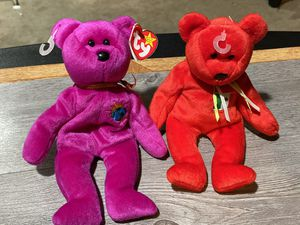2 beanie baby dolls for Sale in Temple Hills, MD
