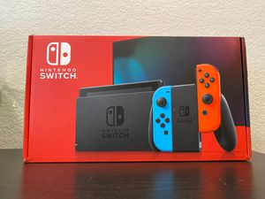 New Nintendo Switch Console v2 - Neon Red and Blue for Sale in Garden Grove, CA