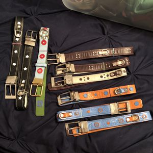 "Nine 20"" Reversible Leather Dog Collars for Sale in Elgin, IL"