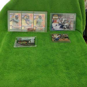 Baseball and HOCKEY Memorabilia Holigrams. for Sale in Corona, CA