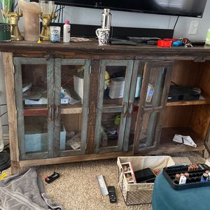 Tv Stand 6ft Wide Long 3 40 Inchs for Sale in Chico, CA