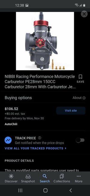Carburetor for Sale in Portland, OR