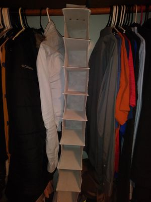 Hanging Closet Shoe Organizer for Sale in Eugene, OR