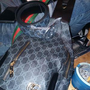 Gucci Belt Gucci Shoulder Bag $ $350 for Sale in Moreno Valley, CA