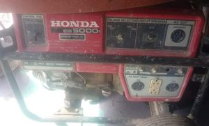 Honda eb 5000 watt generator for Sale in Columbus, OH