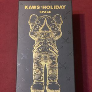 Kaws space holiday figure gold for Sale in Orlando, FL