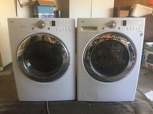 LG Front Load Washer & Dryer $500.00 for Sale in Moreno Valley, CA