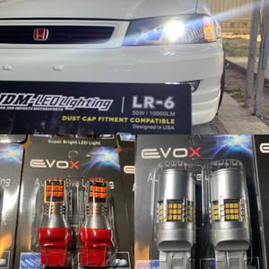 JDM Led Headlights 1 year Warranty With Me Free Installation To Most Cars for Sale in Colton, CA