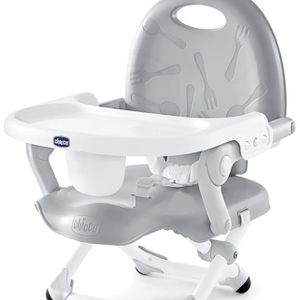 Chicco Pocket Snack Booster Seat, Grey for Sale in Los Angeles, CA