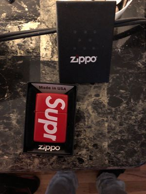"""Supreme zippo lighter """"used"""" for Sale in Queens, NY"""
