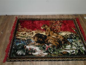 Old school hand woven rug for Sale in Lawton, OK