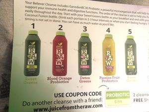3 day Raw Juice Cleanse for Sale in Lantana, FL