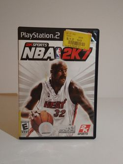NBA 2K7 PS2 for Sale in Downey,  CA