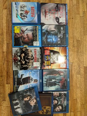 11 DVD BLU-RAY all $15 or $2 for each for Sale in Avondale, AZ