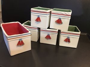 Fabric storage boxes for Sale in Arlington, TX