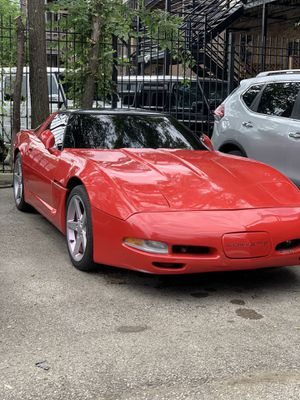 1984 Red Chevy Corvette for Sale in Chicago, IL
