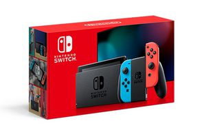 Nintendo Switch with Neon Blue and Neon Red Joy-Con - HAC-001(-01) for Sale in Omaha, NE