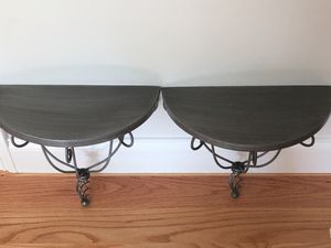 Bird cage twist Iron wall shelves. $30 for Both for Sale in Dunstable, MA