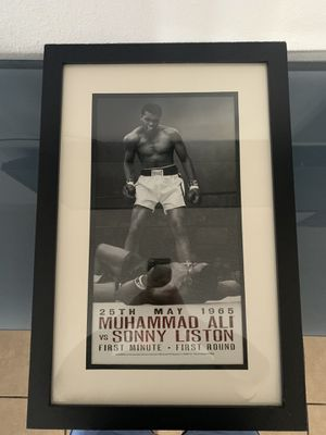 Muhammad Ali Picture Frame for Sale in Phoenix, AZ