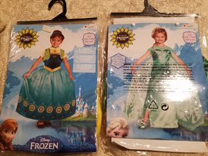 Disney girls costumes. Used once! for Sale in Chesapeake, VA
