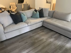Living spaces haven sectional couch for Sale in San Diego, CA