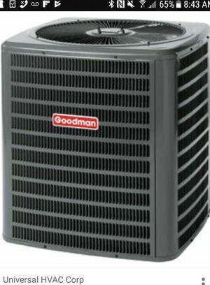 Goodman split Air Conditioner/ Heat unit. for Sale in Fort Washington, MD