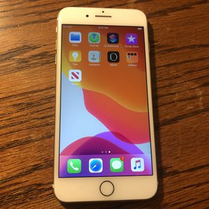 iPhone 7 Plus AT&T, Cricket, T-mobile Unlocked 32GB White/Gold iCloud Clear Clean IMEI for Sale in Fresno, CA