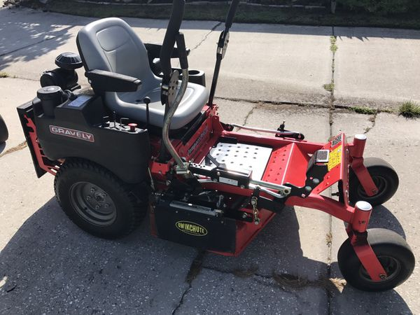 Gravely Compact Pro 34 Zero Turn Mower for Sale in Ruskin, FL - OfferUp