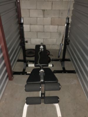 Bench press & Squat rack for Sale in West Covina, CA