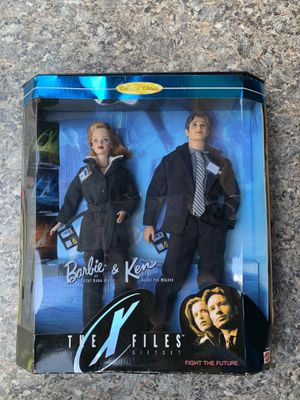 Barbie and Ken X Files dolls for Sale in Clearwater, FL