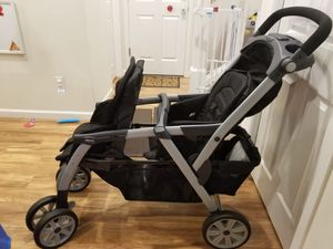 Chicco Cortina Together Two Passenger Double Stroller for Sale in Bothell, WA