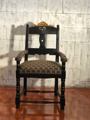 Chair, Antique Mahogany Accent for Sale in Orlando, FL