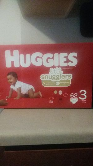 Huggies baby diapers (size 3) for Sale in Bellevue, WA