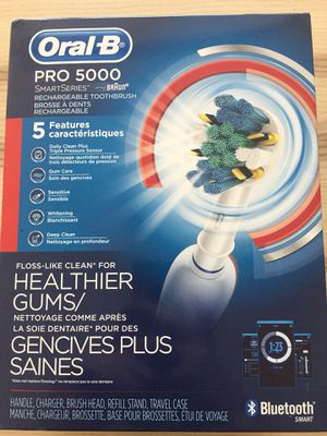Oral B pro 5000 electric toothbrush for Sale in Chicago, IL